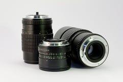 Vieilles lentilles Photographie stock