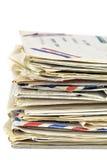 Vieilles lettres Image libre de droits