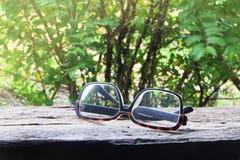 Vieilles lunettes Images libres de droits