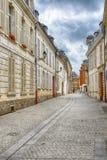 Vieilles maisons à Amiens Photographie stock