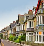 Vieilles maisons anglaises Image stock