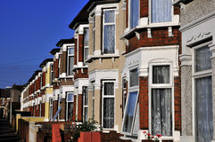 Vieilles maisons anglaises Photos stock