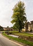 Vieilles maisons dans le secteur de Cotswold de l'Angleterre Image libre de droits