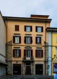 Vieilles maisons dans Prato, Toscane, Italie centrale Photo stock