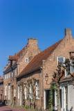 Vieilles maisons de rue de Muurhuizen à Amersfoort Photos libres de droits