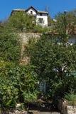Vieilles maisons du 19ème siècle dans la ville de Melnik, Bulgarie Image libre de droits