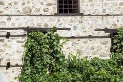 Vieilles maisons du 19ème siècle dans la ville de Melnik, Bulgarie Images stock