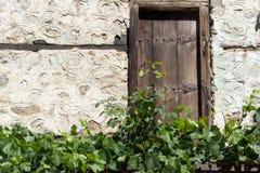 Vieilles maisons du 19ème siècle dans la ville de Melnik, Bulgarie Photo libre de droits