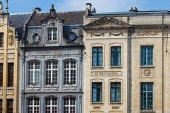 Vieilles maisons historiques photo stock