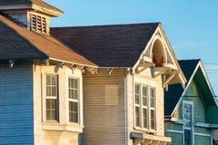 Vieilles maisons, Los Angeles centrale du sud historique Photo libre de droits