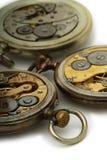Vieilles montres de poche Image libre de droits