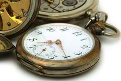 Vieilles montres de poche Image stock