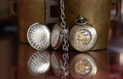 Vieilles montres - fin  Photo stock