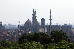 Vieilles mosquées au Caire images libres de droits