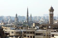 Vieilles mosquées au Caire photo libre de droits