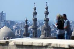 Vieilles mosquées au Caire image libre de droits
