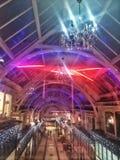 Vieilles nouvelles lumières de Hall Image libre de droits