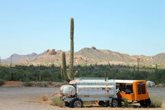 Vieilles périodes dans le désert Images libres de droits