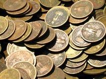 Vieilles pièces de monnaie Image stock