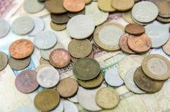 Vieilles pièces de monnaie Photo libre de droits