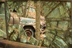 Vieilles pièces de véhicule Photographie stock