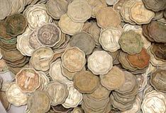 Vieilles pièces de monnaie Image libre de droits