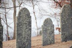 Vieilles pierres tombales Photo libre de droits