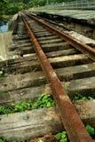 Vieilles pistes de train Photographie stock libre de droits