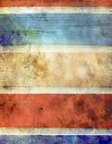 Vieilles planches colorées Image stock