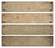 Vieilles planches en bois Photo stock