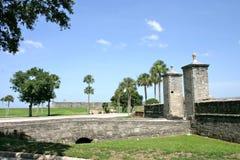 Vieilles portes de ville de St Augustiine Image stock