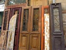 Vieilles portes de vintage Image stock