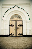 Vieilles portes en bois Photo libre de droits