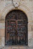 Vieilles portes espagnoles de mission Photo stock