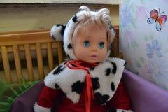Vieilles poupées Photos stock