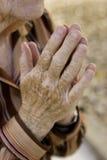 Vieilles prières Image libre de droits