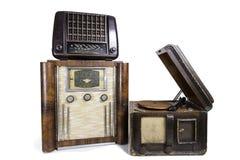 Vieilles radios Photos libres de droits