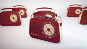Vieilles radios à partir de 1950 et les années Photos stock