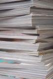 Vieilles revues épaisses. Photos stock