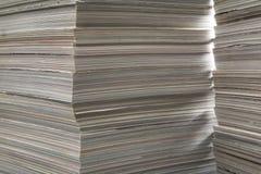 Vieilles revues épaisses. Photographie stock libre de droits