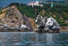 Vieilles roches image libre de droits