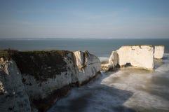 Vieilles roches de Harry, Dorset Images stock