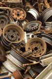 Vieilles roues Photo stock