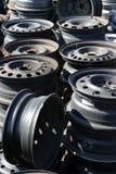 Vieilles roues Images libres de droits