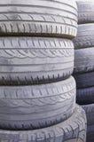 Vieilles roues de véhicule illustration stock
