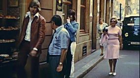 Vieilles rues d'achats de Strasbourg clips vidéos