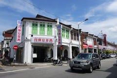 Vieilles rues et architecture de Georgetown à Penang, Malaisie Photographie stock