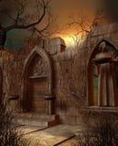 Vieilles ruines illustration de vecteur