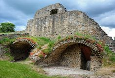 Vieilles ruines Photographie stock