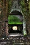 Vieilles ruines d'usine Photographie stock libre de droits